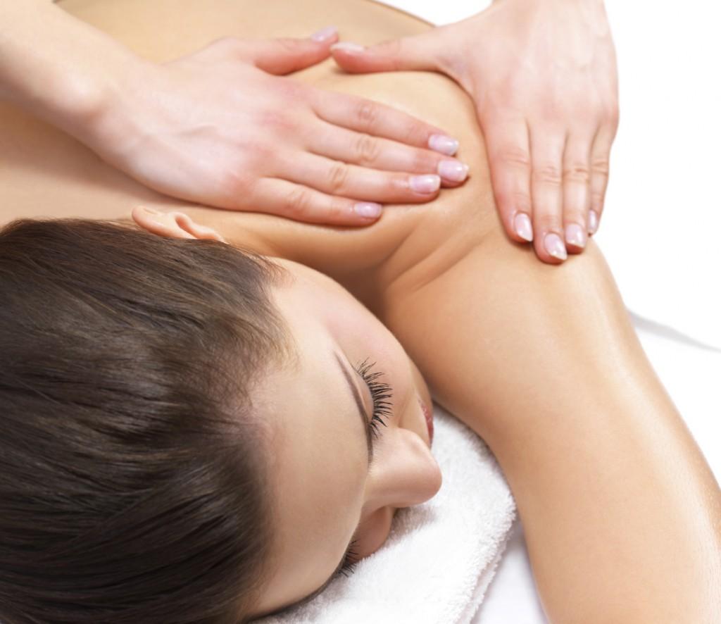 professionell massage stor rumpa