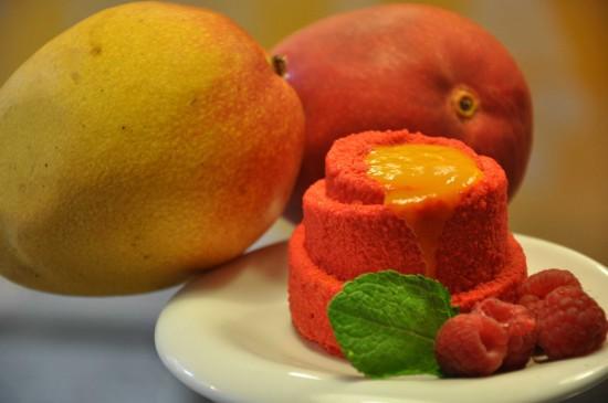 Raspberry Mango Mousse