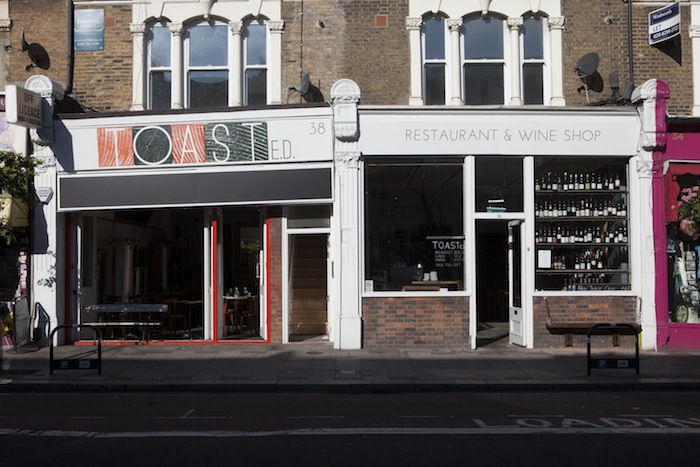 GB. England. London. East Dulwich. TOASTed. 2013.
