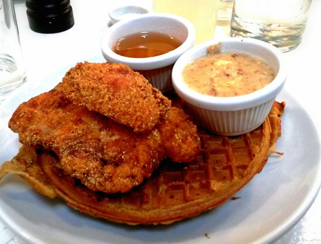 rita's chicken and waffles
