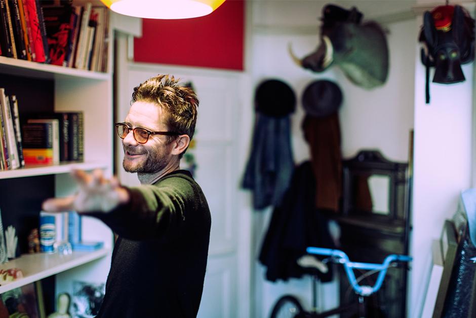 Jamie Hewlett - le cool London interview