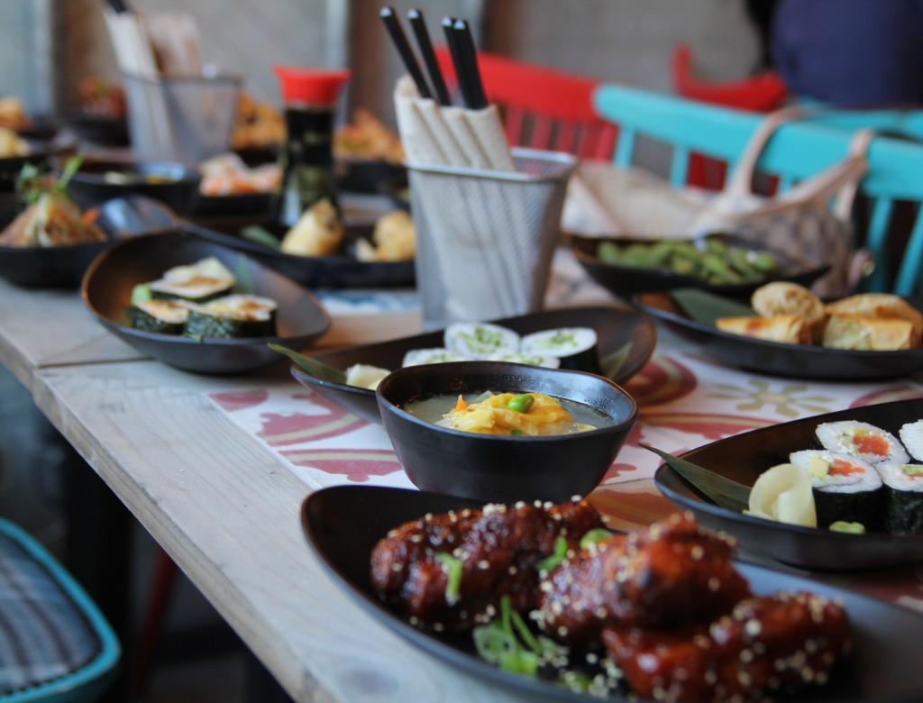 Tootoomoo Islington- assorted dishes