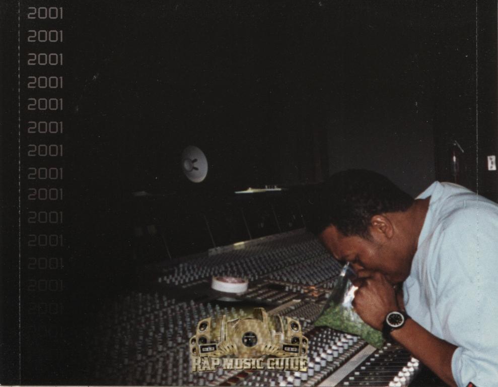 Dr. Dre - Chronic 2001 rear tray