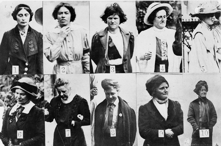 AR-1528-Surveillance-photographs-of-suffragettes-who-had-be-imprisoned-in-Holloway-720x477