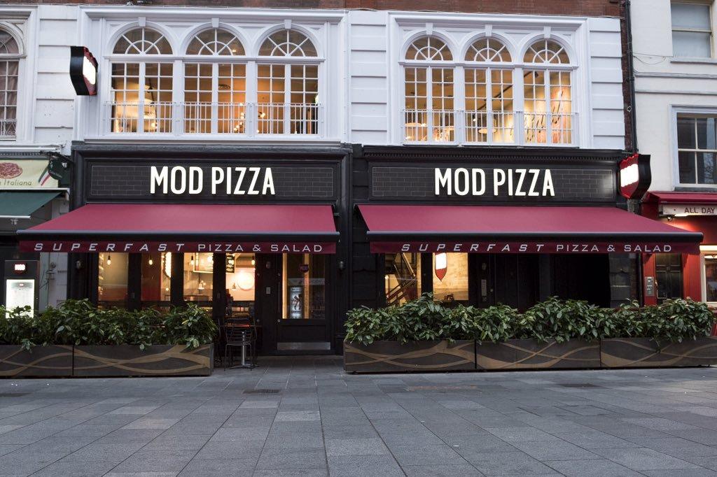 Mod Pizza Le Cool London
