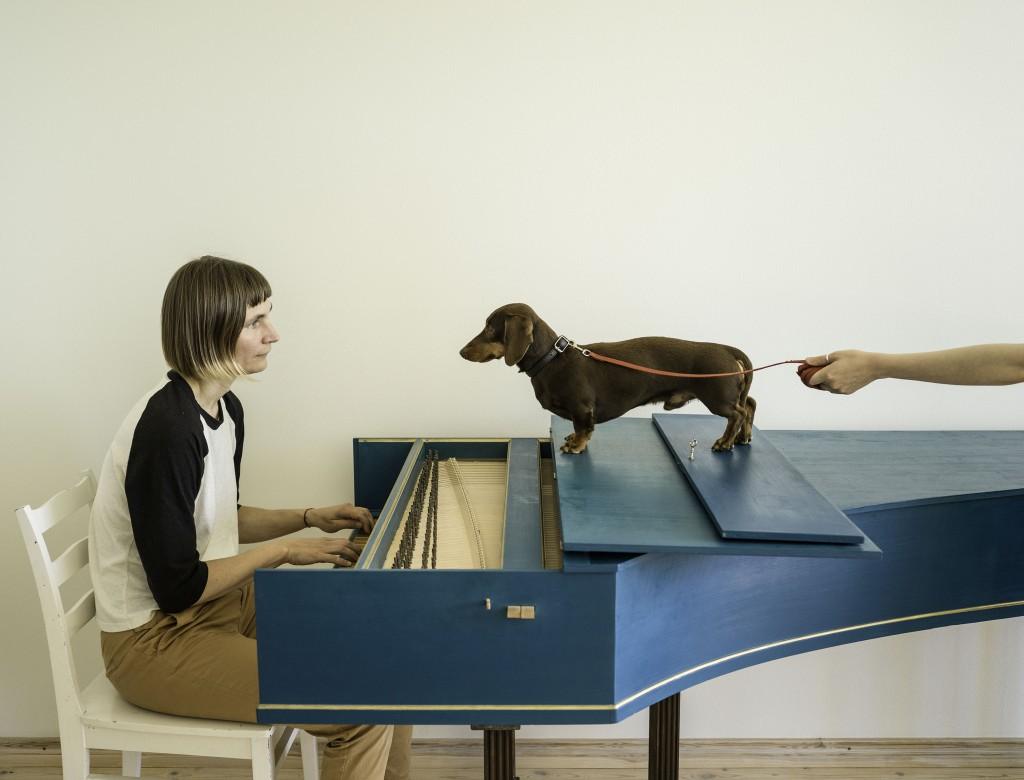 Elina Brotherus_Flux Harpsichord Concert_camara oscura