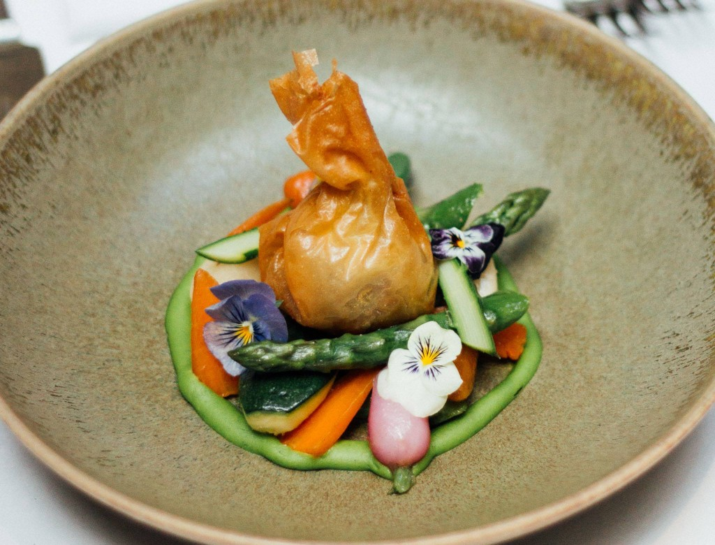 Best vegetarian tasting menu london